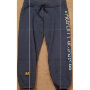 """VS/PINK """"Property of PINK 86"""" Joggers X-Small"""